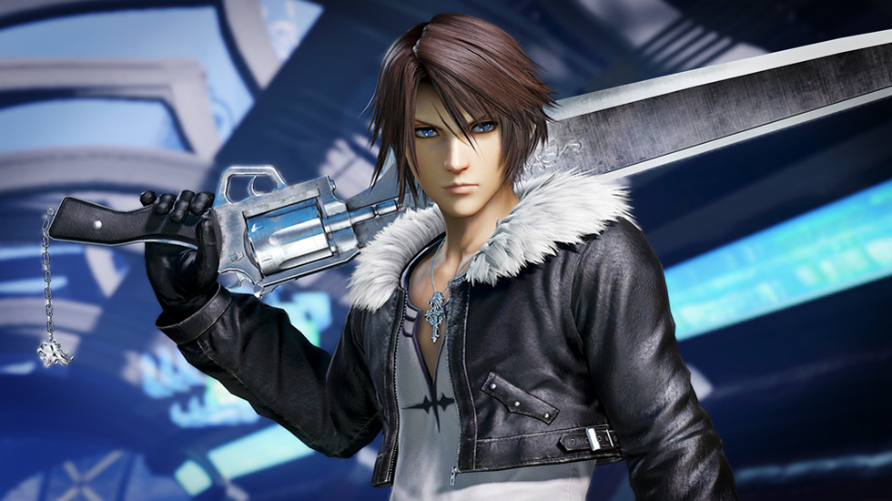 how tall is squall leonhart