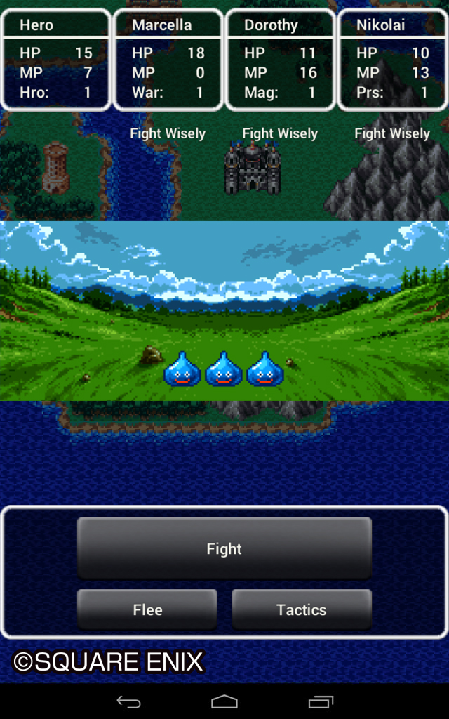 DRAGON QUEST III The Seeds of Salvation