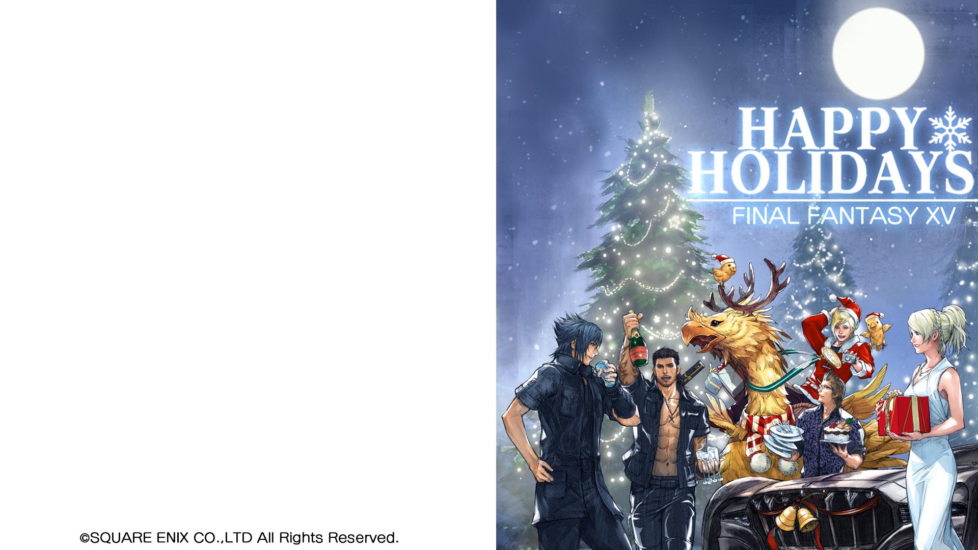 パソコン用壁紙 スペシャルコンテンツ Final Fantasy Xv