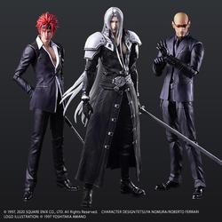 「FINAL FANTASY VII REMAKE」より、セフィロス、レノ、ルードがPLAY ARTS改に登場!