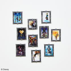 「キングダム ハーツ」シリーズ のアクリルマグネットギャラリー Vol. 2が登場!