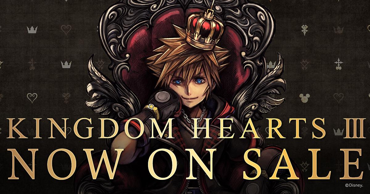 Kingdom Hearts Iii Square Enix