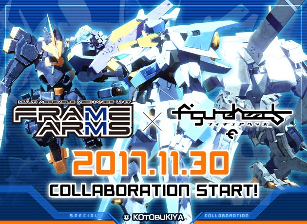 オンラインゲーム「フィギュアヘッズ」「フレームアームズ」とのコラボレーション開始やゲーミングPCが抽選で手に入る豪華記念キャンペーンを実施!