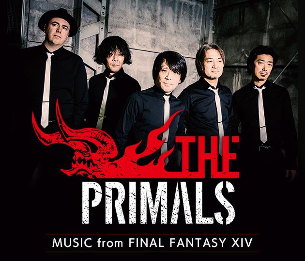 『ファイナルファンタジーXIV』オフィシャルバンド「THE PRIMALS」1stアルバム『THE PRIMALS』NOW ON SALE!